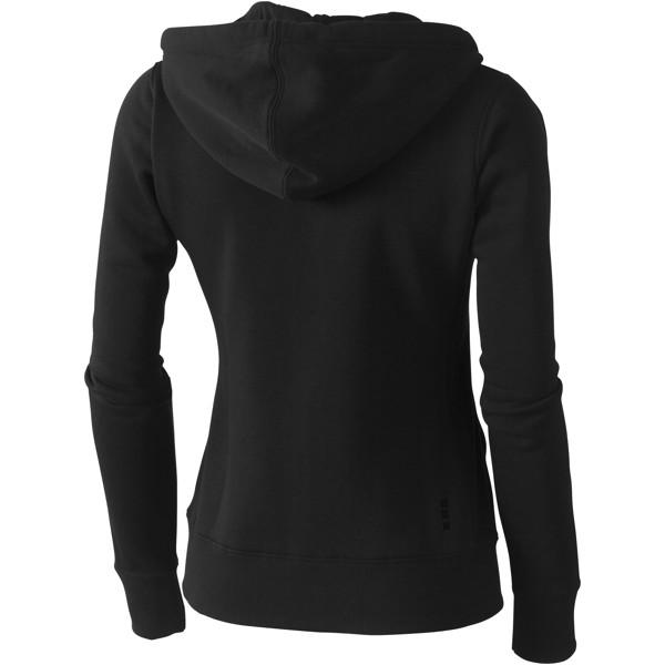 Arora women's full zip hoodie - Solid black / S