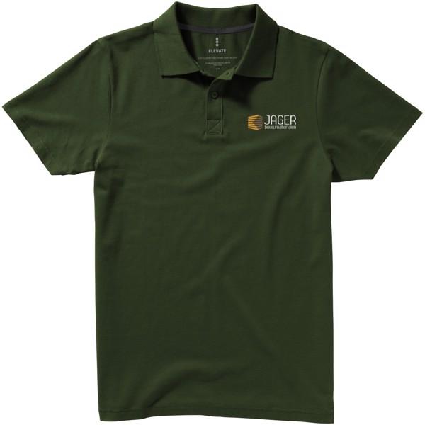 Seller short sleeve men's polo - Army green / XXL
