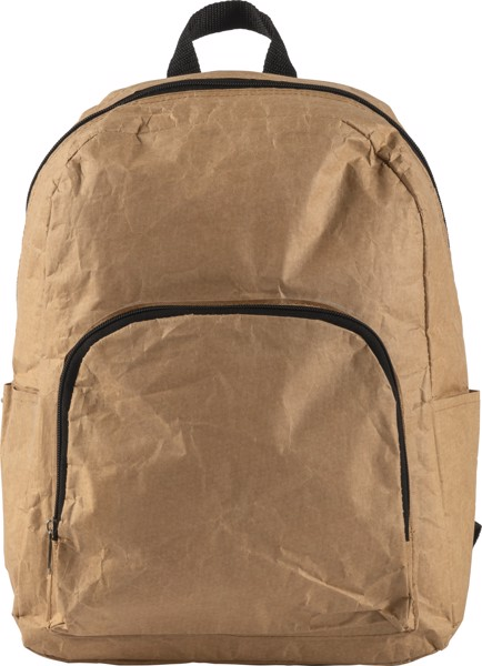 Laminated paper (80 gr/m²) cooler backpack