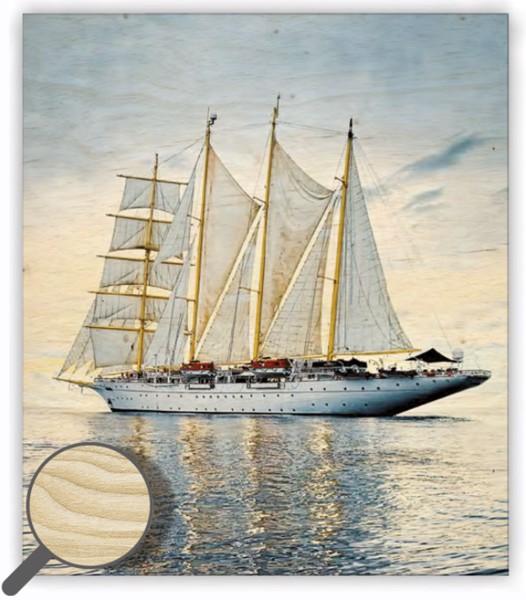 Dřevěný obraz Sailing