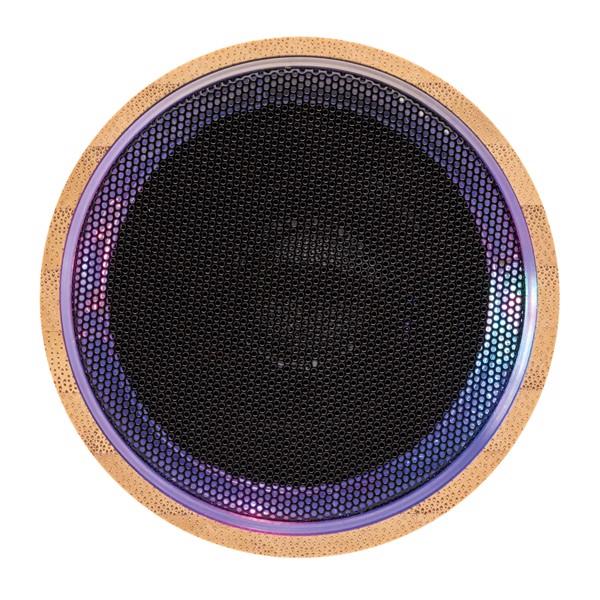 Bambusz vezeték nélküli hangszóró - Fekete