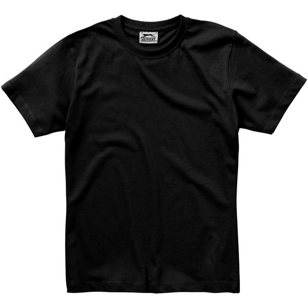 Ace short sleeve women's t-shirt - Solid Black / S