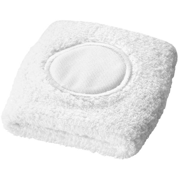 Potítko na ruku Hyper - White Solid