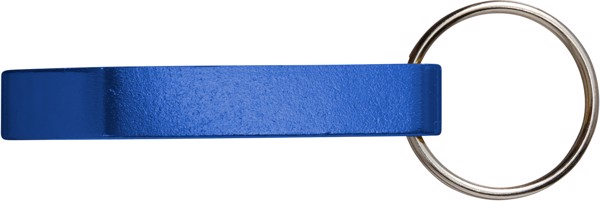 Metal 2-in-1 key holder - Blue
