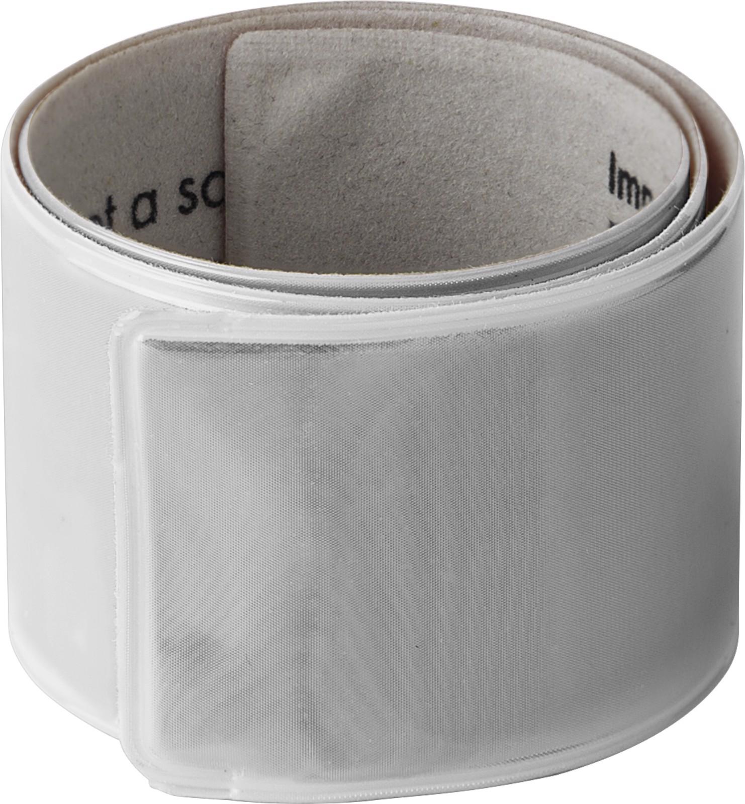 PVC arm band - Silver