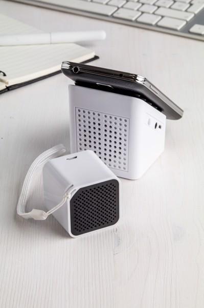 Bluetooth Reproduktor Rhythm - Bílá / Černá