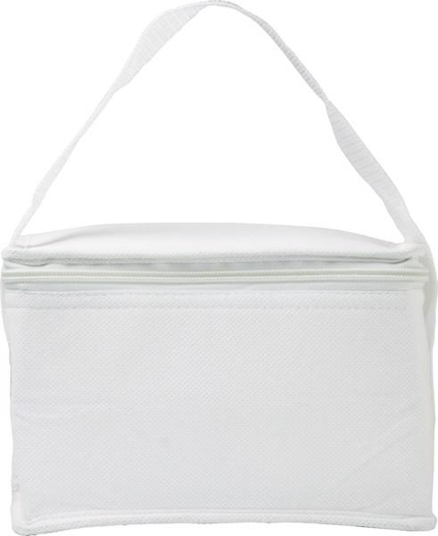 Nonwoven (80 gr/m²) cooler bag - White