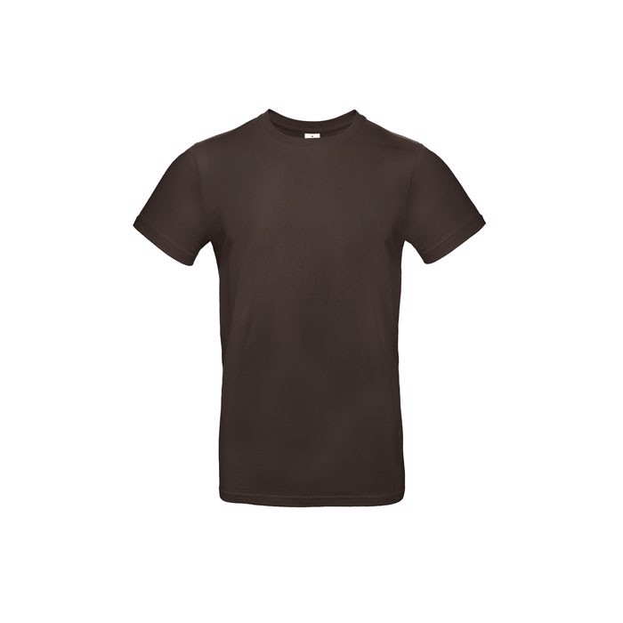 T-shirt male 185 g/m² #E190 T-Shirt - Brown / 3XL