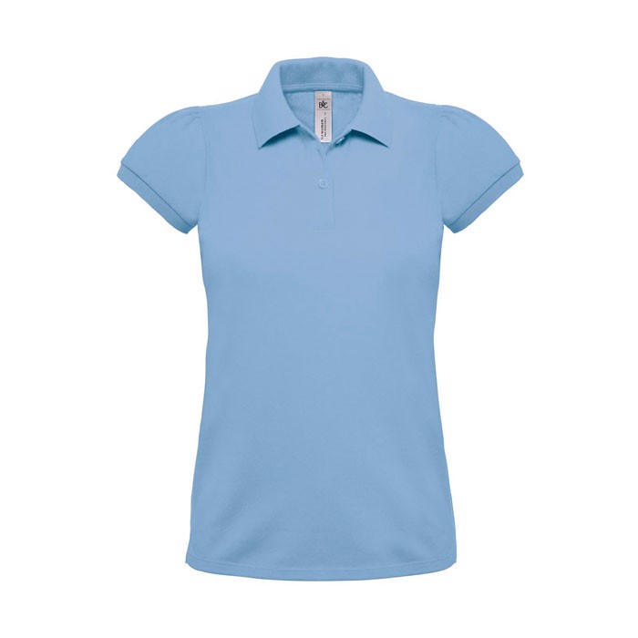 Heavymill Polo Ladies Heavymill Women - Sky / M