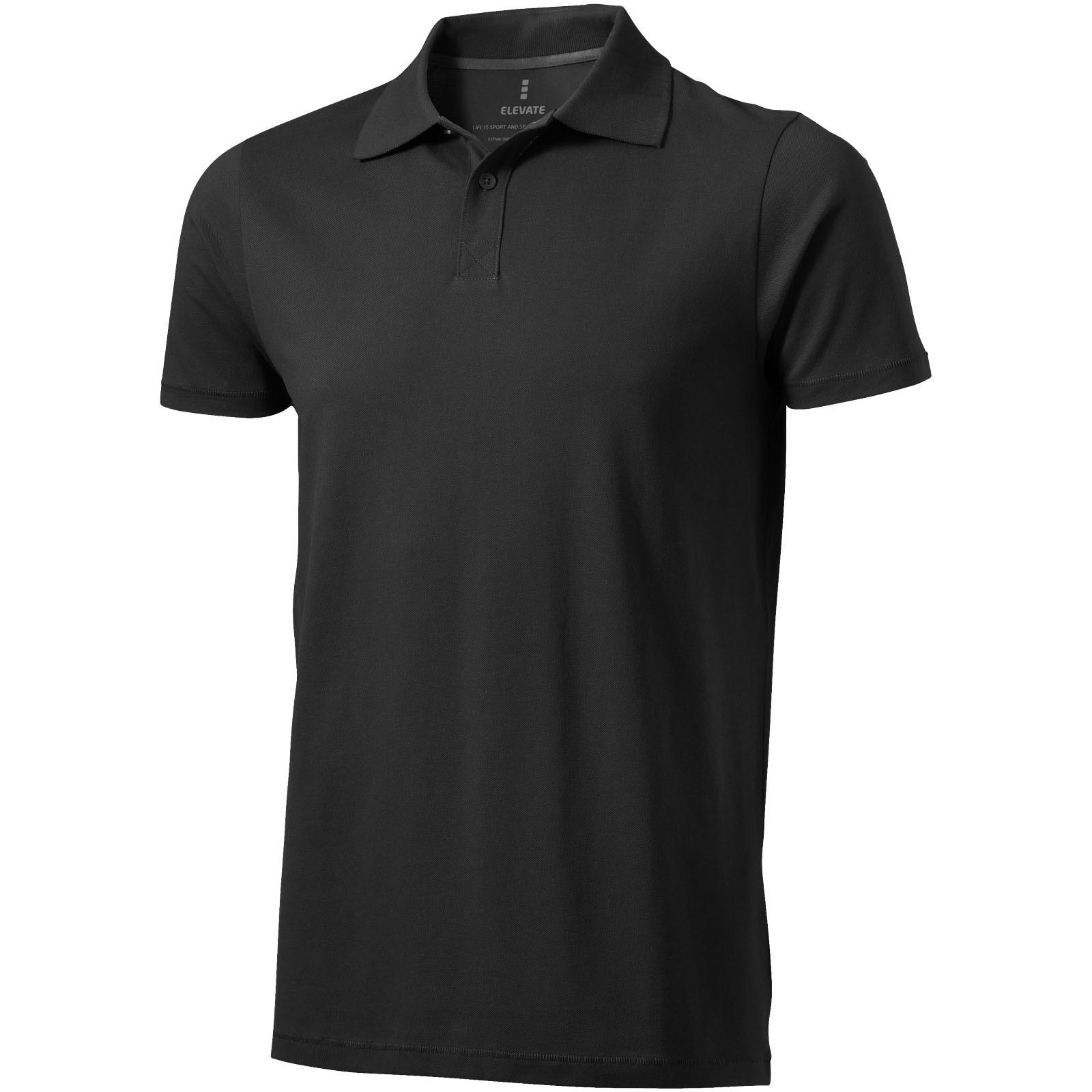 Seller short sleeve men's polo - Anthracite / XS