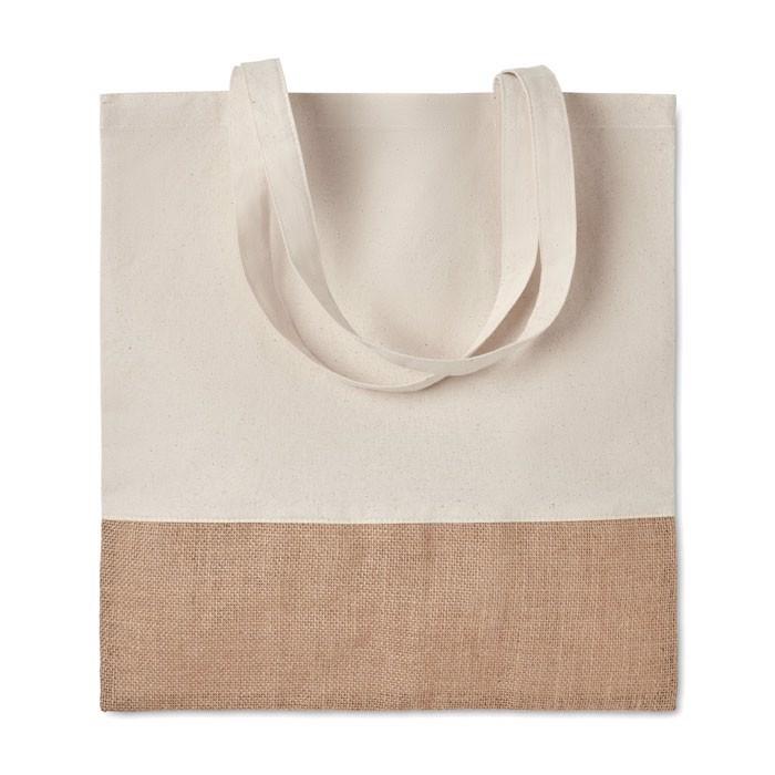 Nakupovalna torba z detajli iz jute India Tote