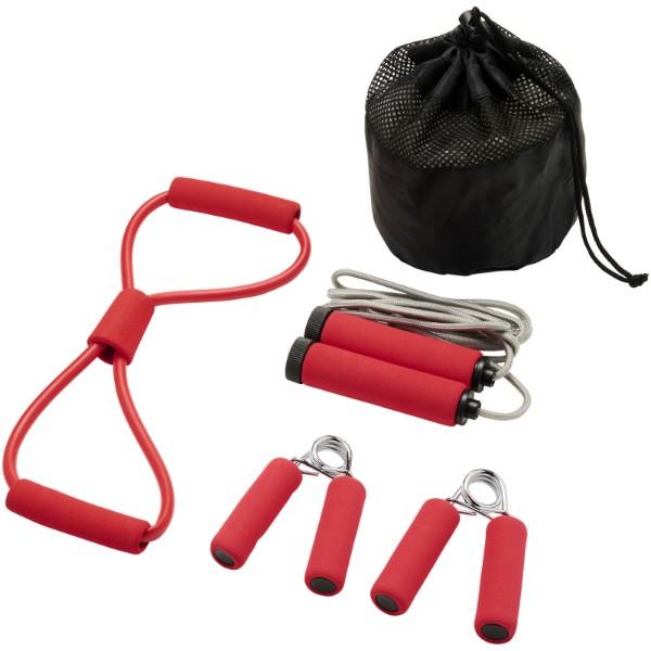 Dwayne fitness set - Red