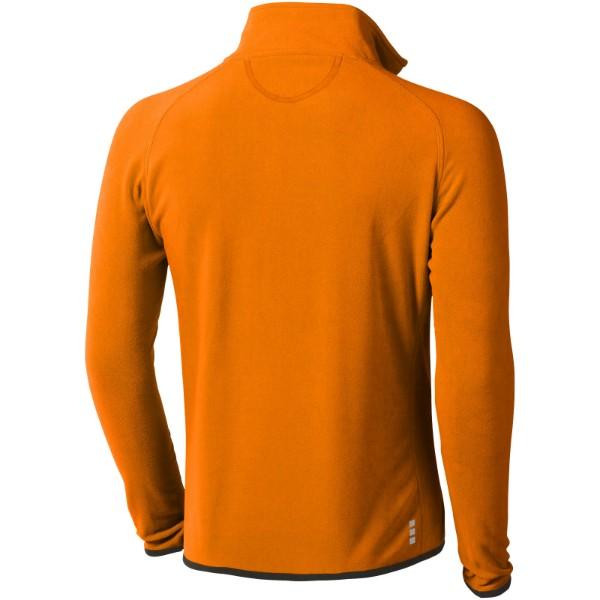 Brossard micro fleece full zip jacket - Orange / M