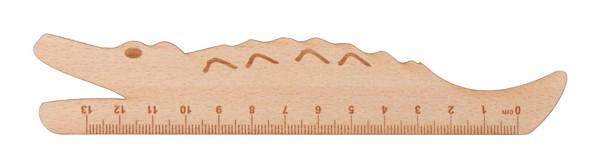 Dřevěné Pravítko Looney - Přírodní