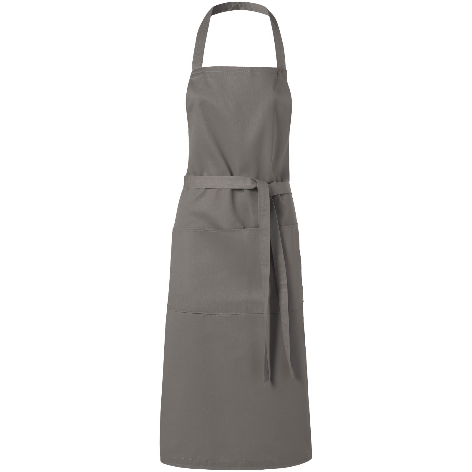 Viera apron with 2 pockets - Dark grey