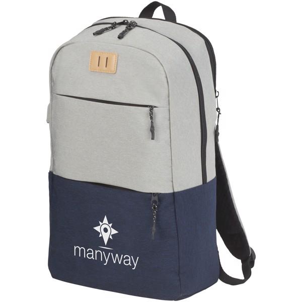 """Cason batoh pro 15"""" notebook - Navy / Větle šedá"""
