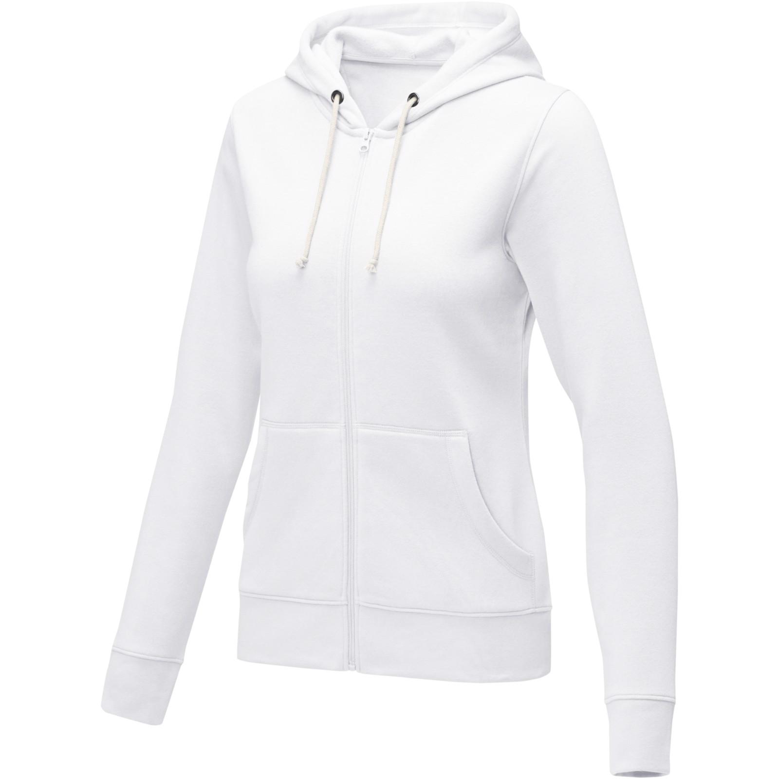 Theron women's full zip hoodie - White / L