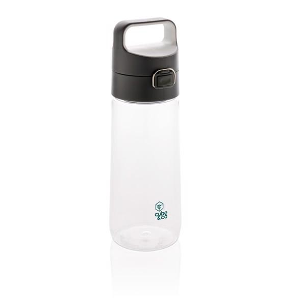 Nepropustná tritanová láhev Hydrate - Průhledné / Antracitová