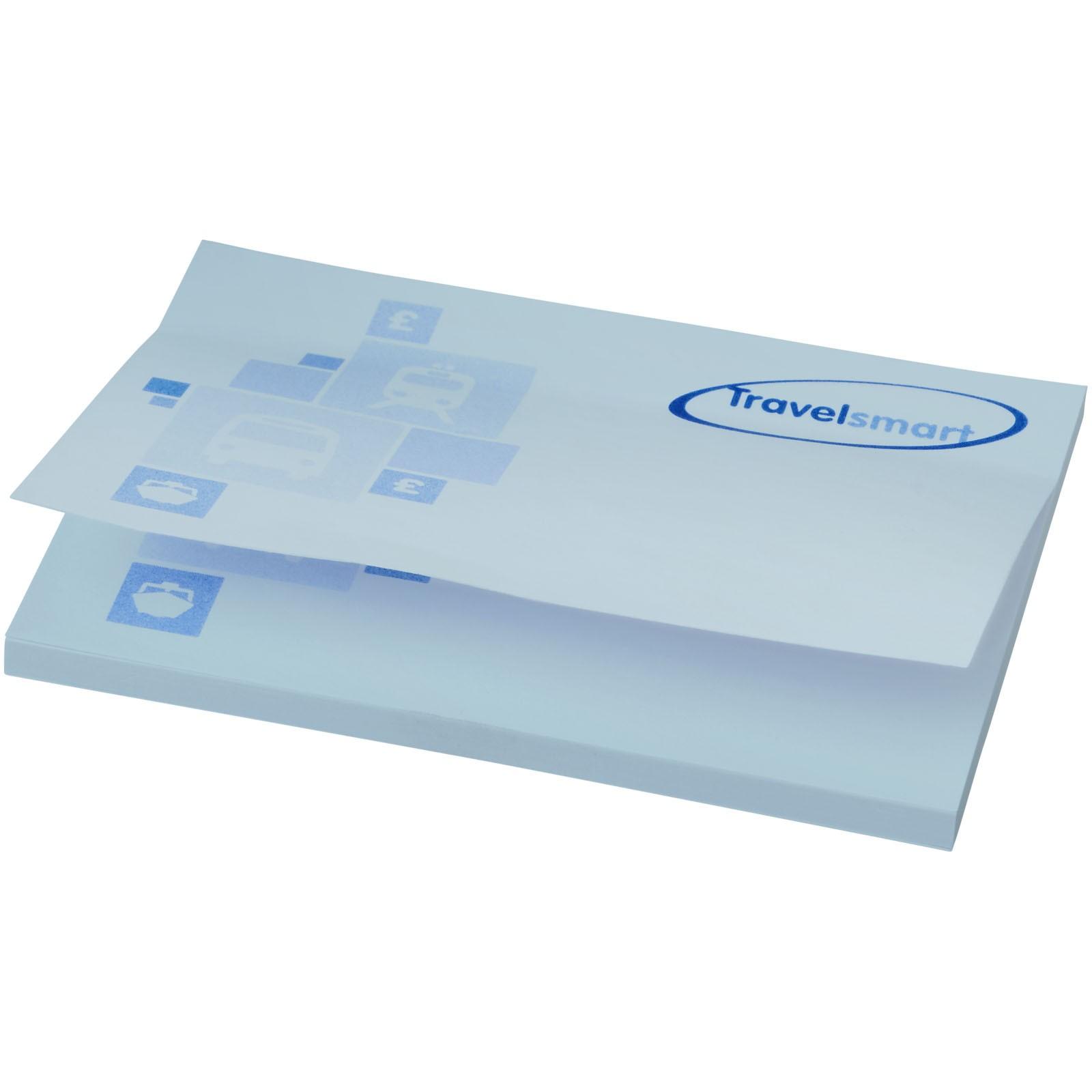 Samolepicí lístečky Sticky-Mate® 100x75mm - Světle modrá / 50 pages