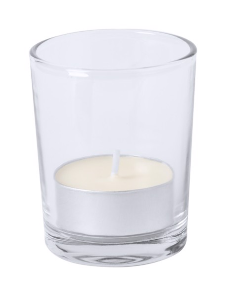 Candle Persy, Vanilla - White