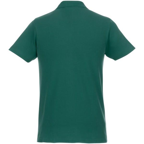 Pánská polokošile s krátkým rukávem Helios - Lesní zelená / L