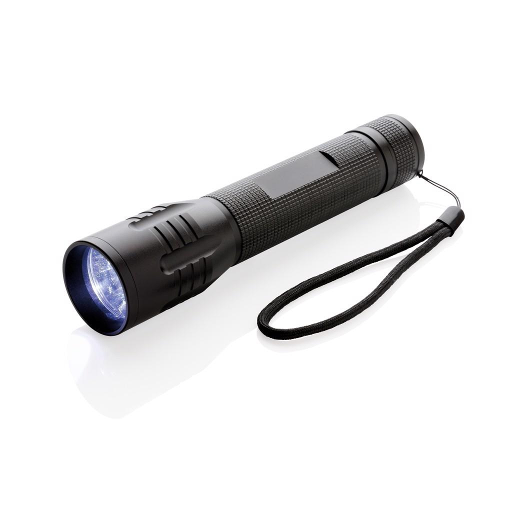 Velká CREE svítilna 3W - Černá