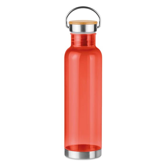 Butelka z Tritanu 800 ml Helsinki Basic - przezroczysty czerwony