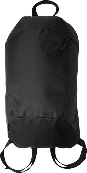 Polyester (210D) backpack - Black