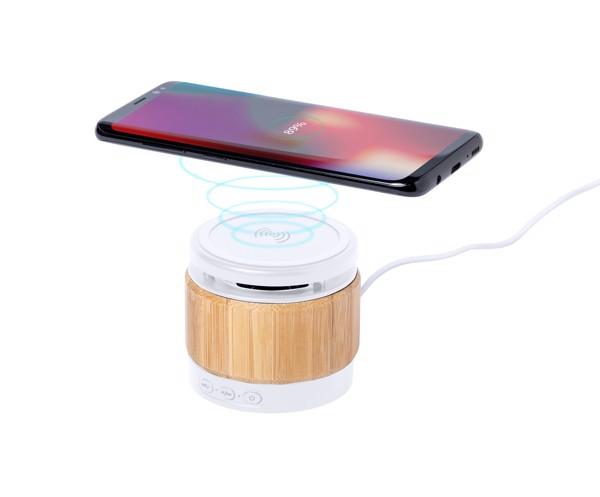 Charger Bluetooth Speaker Zakrox - Natural / White