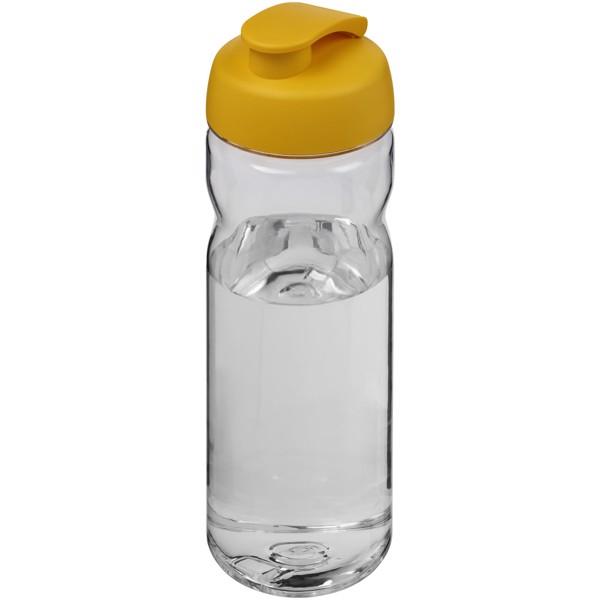Sportovní láhev s vyklápěcím víčkem Base Tritan™ 650 ml - Průhledná / Žlutá