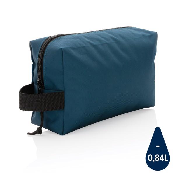 Neceser básico RPET Impact AWARE ™ - Azul Marino