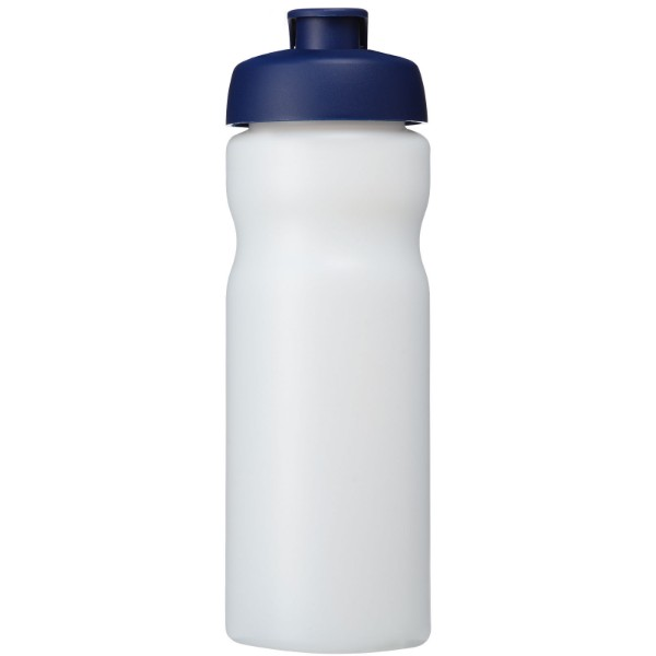 Baseline® Plus 650 ml flip lid sport bottle - Transparent / Blue