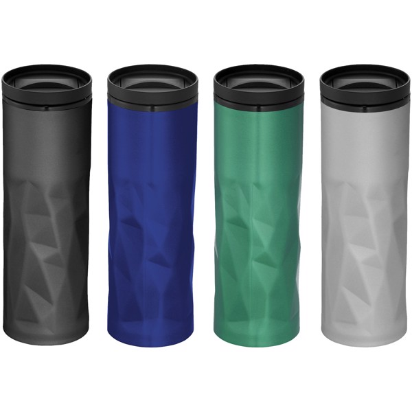 Torino 450 ml foam insulated tumbler - Solid black