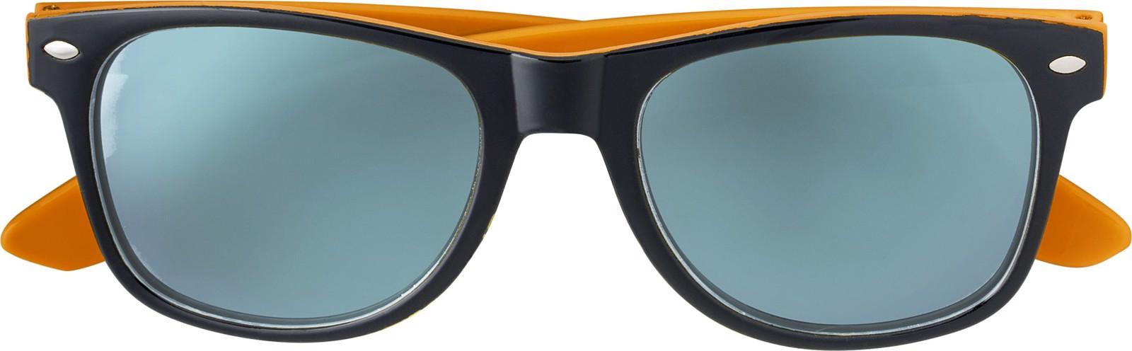 Acrylic sunglasses - Orange
