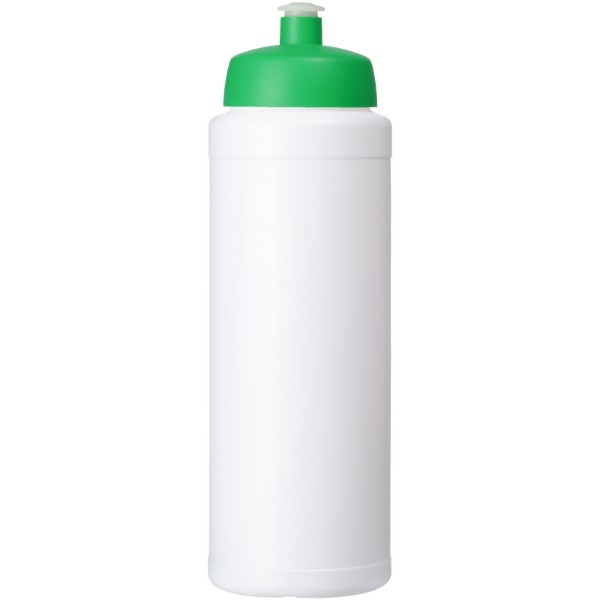 Baseline® Plus 750 ml bottle with sports lid - White / Green
