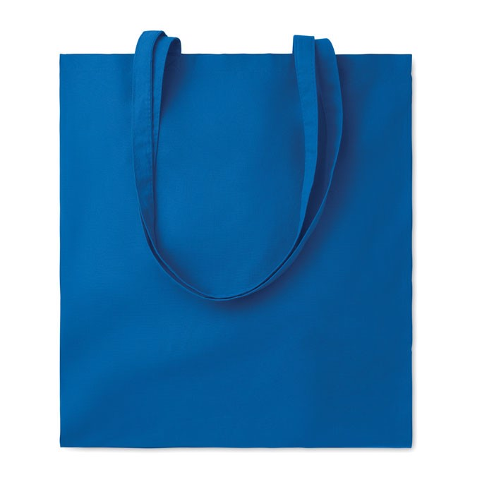 Bawełniana torba na zakupy Cottonel Colour - niebieski