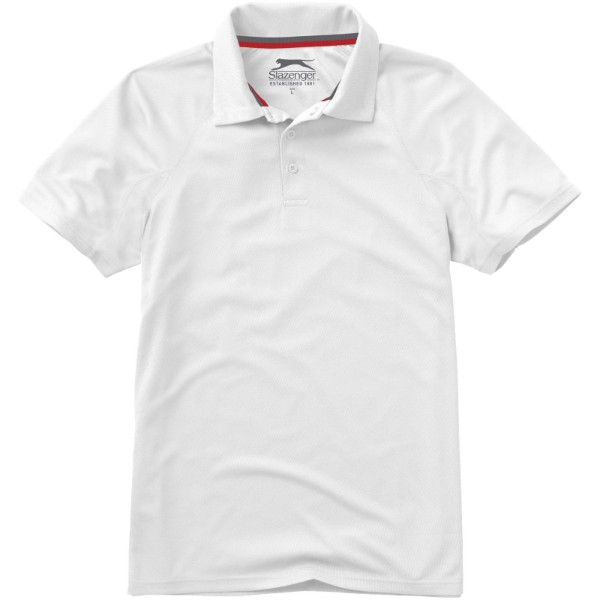 Game short sleeve men's cool fit polo - White / S