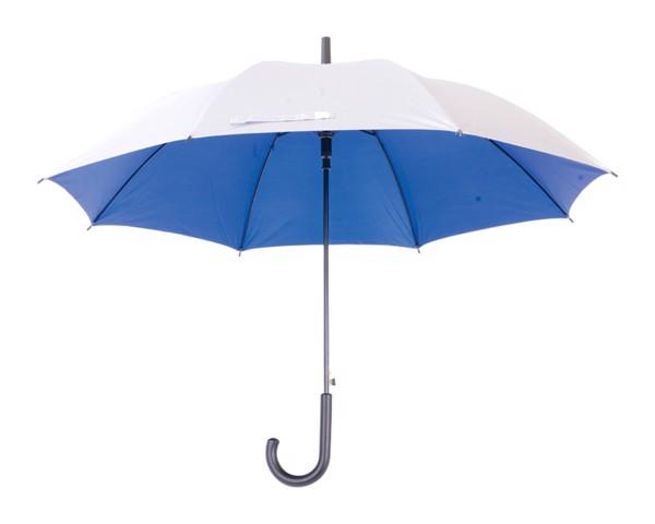 Deštník Automat Cardin - Modrá / Stříbrná