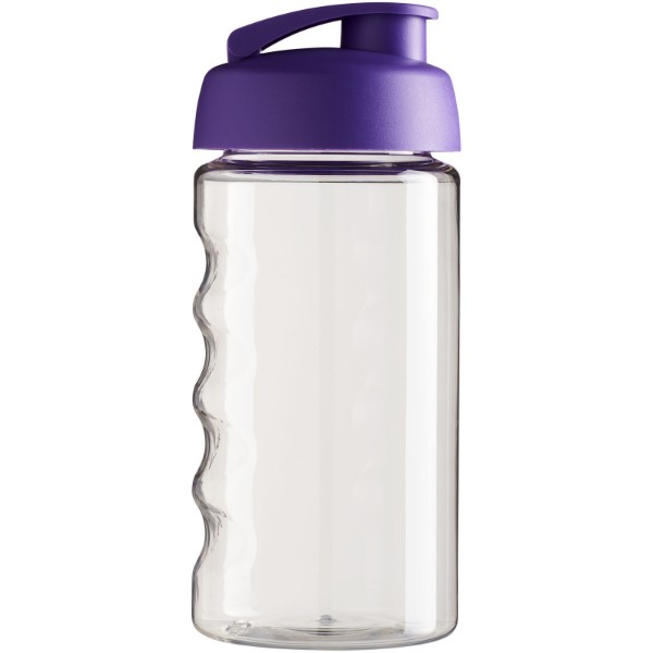 Sportovní láhev s vyklápěcím víčkem H2O Bop® 500 ml - Purpurová