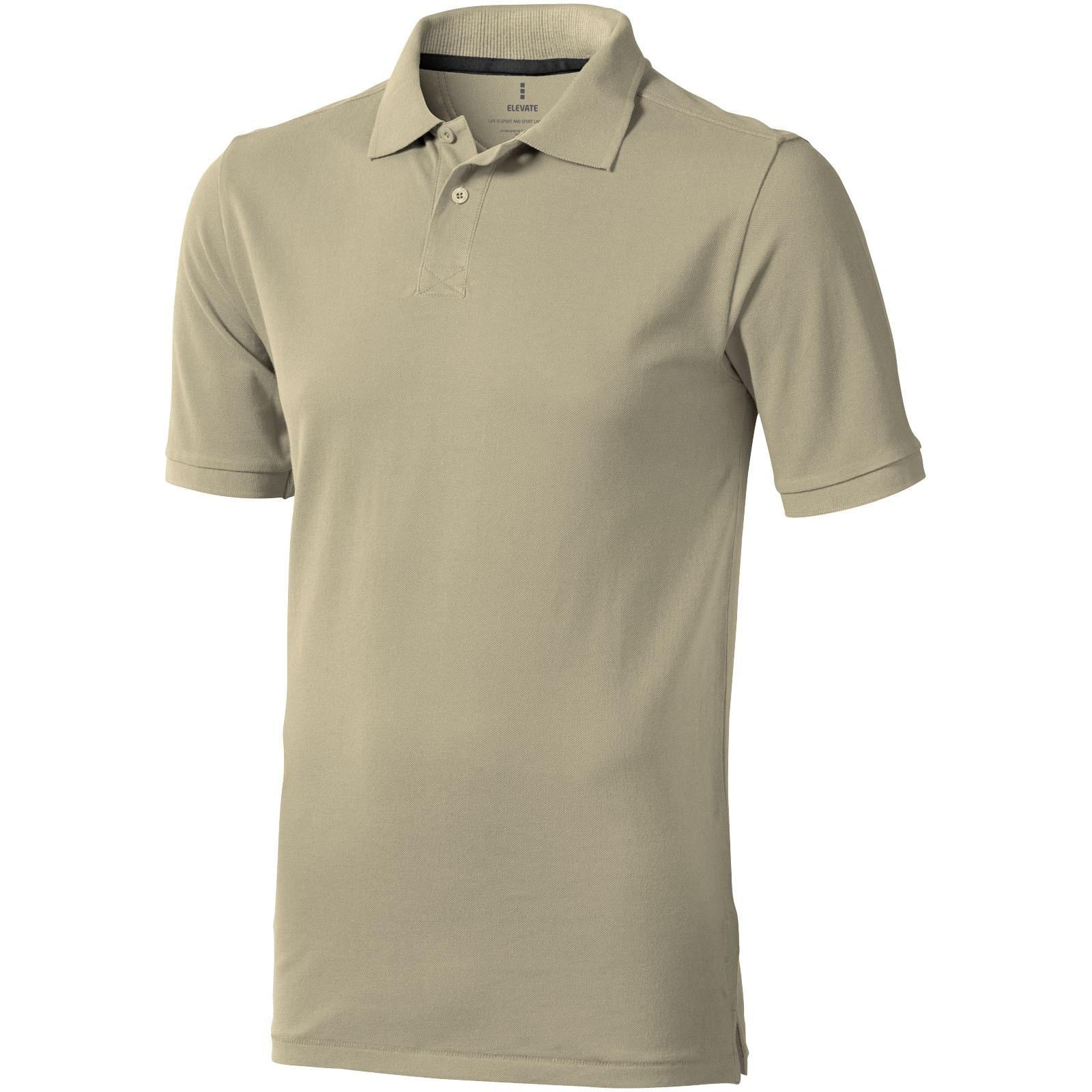 Calgary short sleeve men's polo - Khaki / M