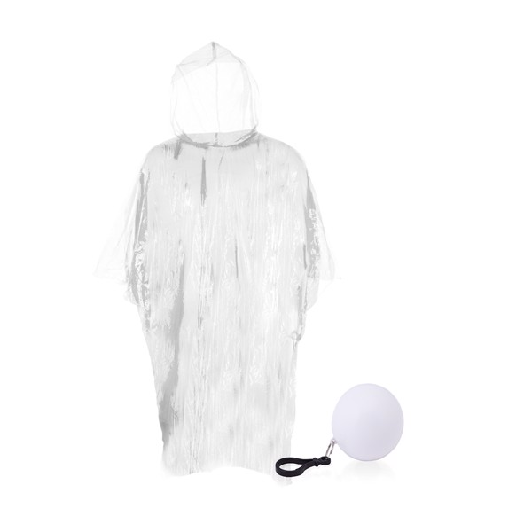 Keyring Raincoat Storm - White