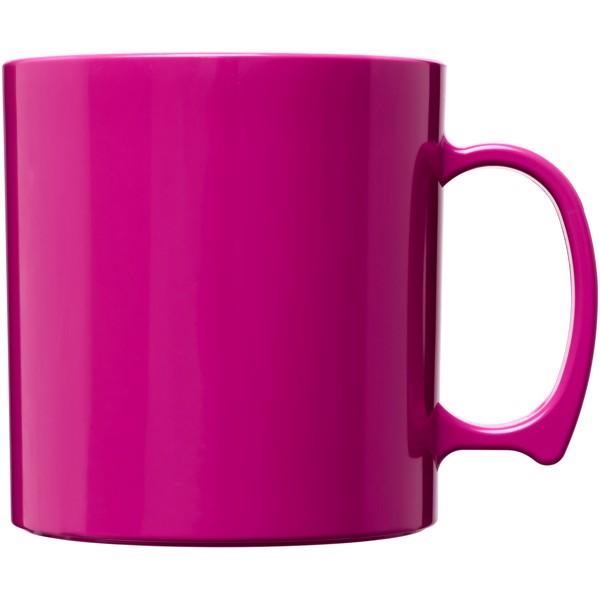 Standard 300 ml plastic mug - Magenta