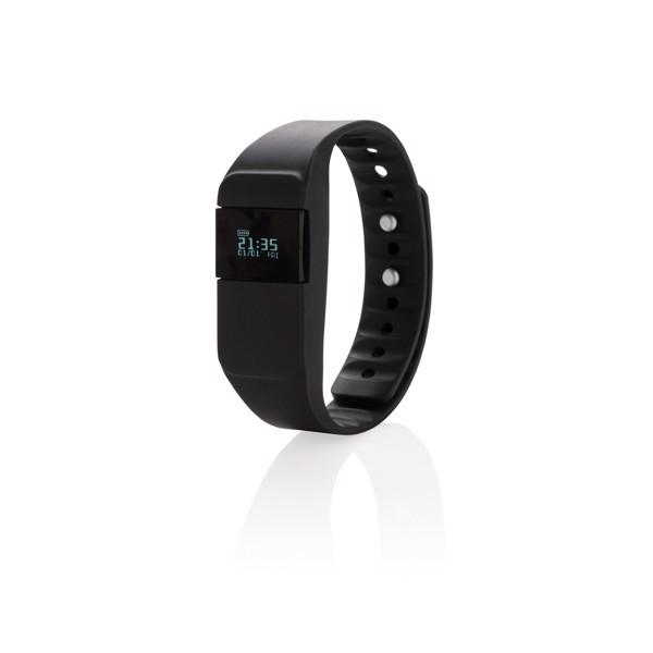 Monitor de actividad Keep fit - Negro