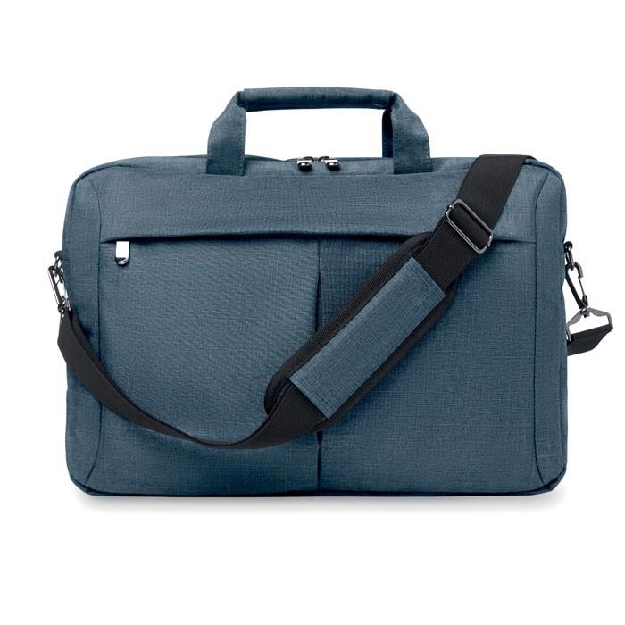 2 barevná taška na laptop Stockholm - blue