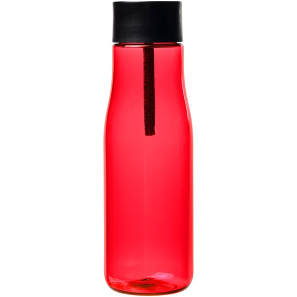 Ara 640 ml Tritan™ sport bottle with charging cable - Red