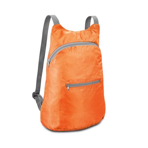 BARCELONA. Foldable backpack - Orange