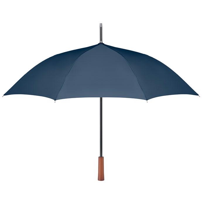 """23"""" wooden handle umbrella Galway - Blue"""
