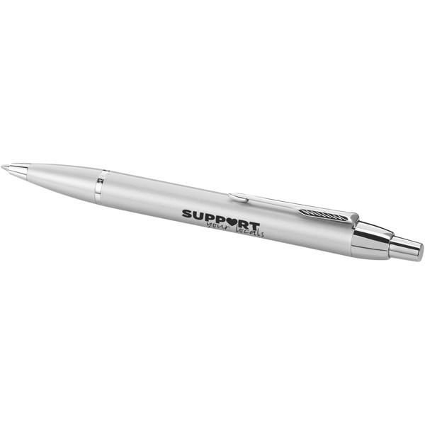 Kuličkové pero Parker IM - Stříbrný