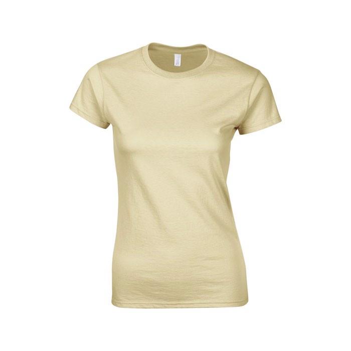 Ladies t-shirt 150 g/m² Lady-Fit Ring Spun 64000L - Sand / XXL