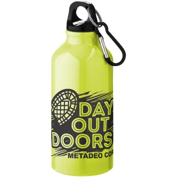 Nápojová láhev s karabinou Oregon - Neonově Žlutá